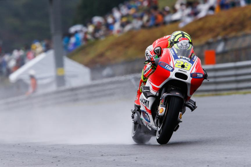Andrea Iannone, Ducati Team, Japanese GP RACE