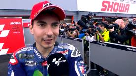 The Spanish rider says that the only objective now is to win the last three races of the year.