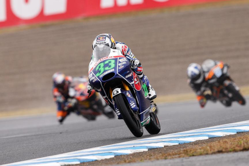 Enea Bastianini, Gresini Racing Team Moto3, Japanese GP RACE