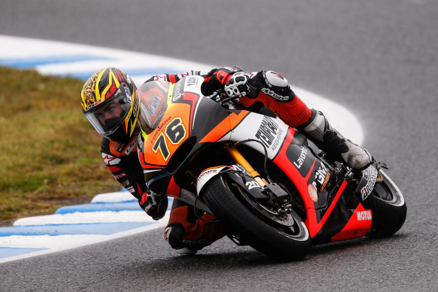 Loris Baz, Forward Racing, Japanese GP RACE