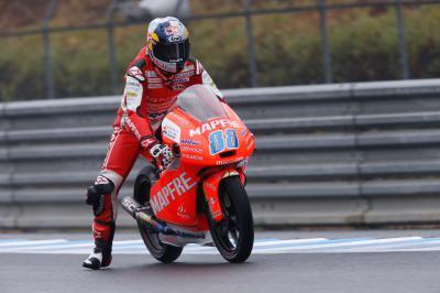 Martín marca el ritmo del Warm Up de Moto3™