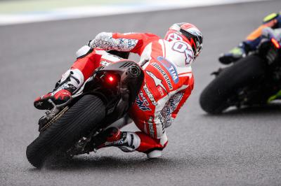 "Dovizioso: ""The front tyre started to deteriorate"""