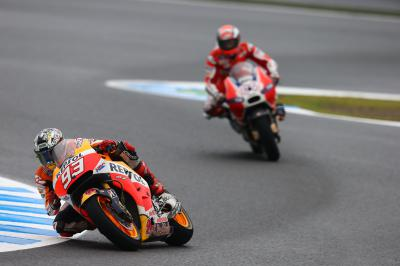 "Marquez: ""It was a difficult Sunday"""