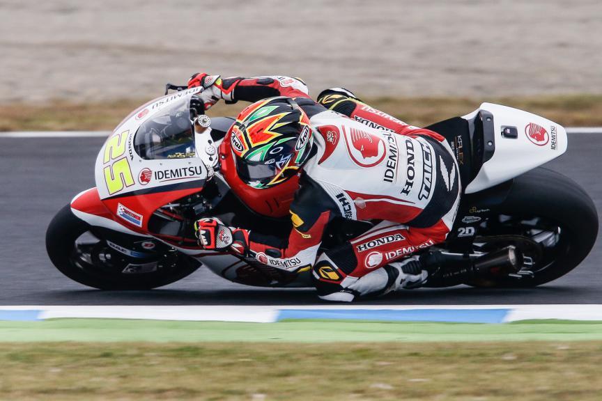 Azlam Shah, IDEMITSU Honda Team Asia, Japanese GP