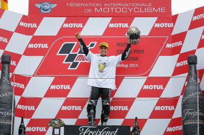 Campeones del mundo en la temporada de su debut en Moto2™