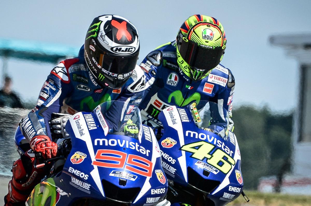 Rossi & Lorenzo ready for Phillip Island Face-off | MotoGP™
