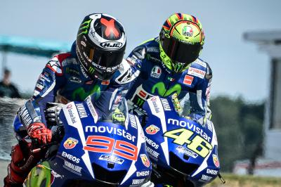 Rossi & Lorenzo ready for Phillip Island Face-off