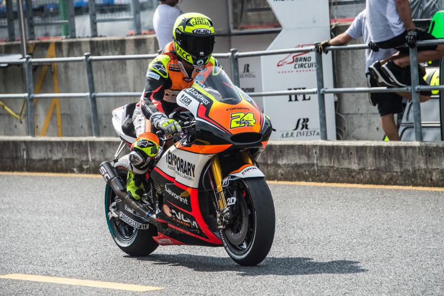 Toni Elias, Forward Racing