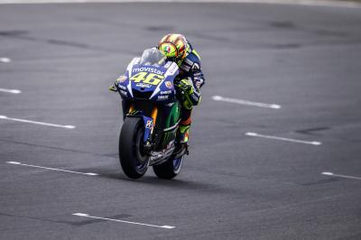 Rossi: «Espero subir al podio, por delante de Jorge»