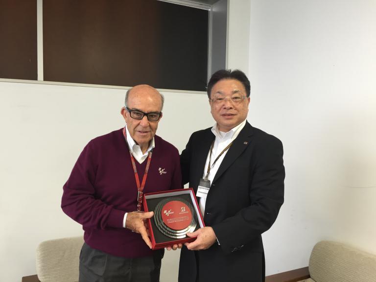 Carmelo Ezpeleta and Masaaki Tsuya - CEO, Bridgestone Corporation