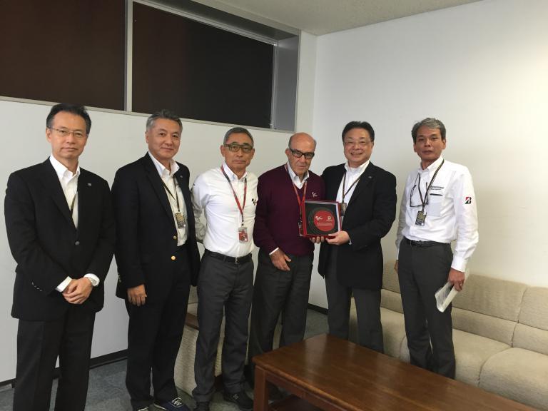Masato Hiruma, Shu Ishibashi, Hiroshi Yasukawa, Carmelo Ezpeleta, Masaaki Tsuya, Masahiro Higashi