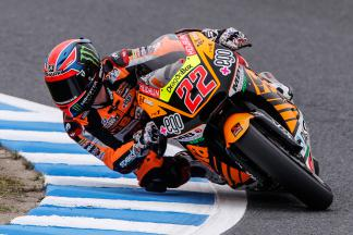 Lowes quickest out of the blocks in Moto2™ FP1