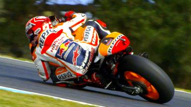 Marquez sets pace on day 1 at Phillip Island