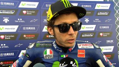 Rossi: 'My pace was quite good'