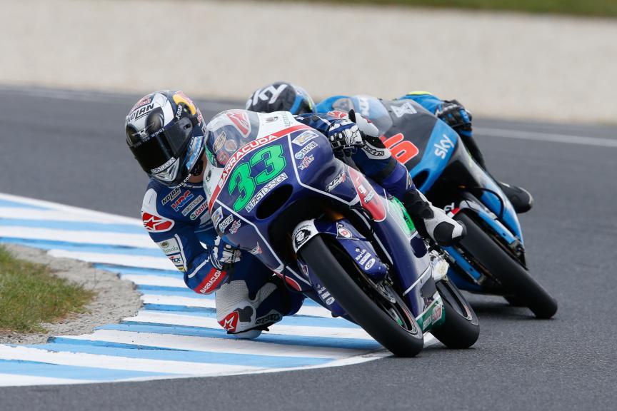 Enea Bastianini, Gresini Racing Team Moto3, Australian GP FP2