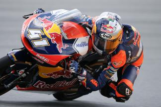 Binder sets the pace in Moto3™ FP3