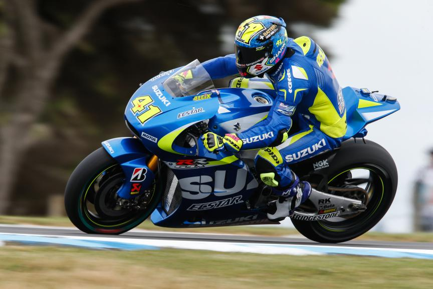 Aleix Espargaro, Team Suzuki Ecstar, Australian GP FP2