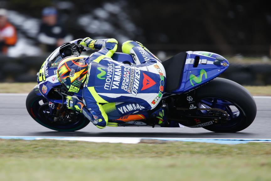 Valentino Rossi, Movistar Yamaha MotoGP, Australian GP FP2