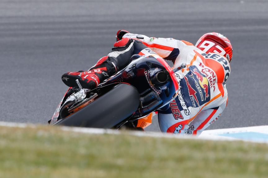 Marc Marquez, Repsol Honda Team, Australian GP FP2