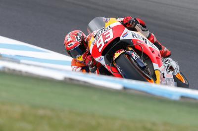 Marquez risponde a Lorenzo, Rossi fatica…