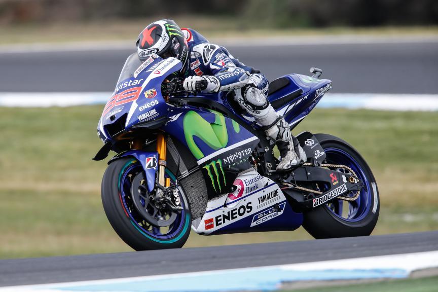 Jorge Lorenzo, Movistar Yamaha MotoGP, Australian GP FP2