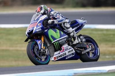 Lorenzo: «El circuito está bastante resbaladizo»