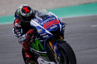 Lorenzo, domina la FP1 de MotoGP™