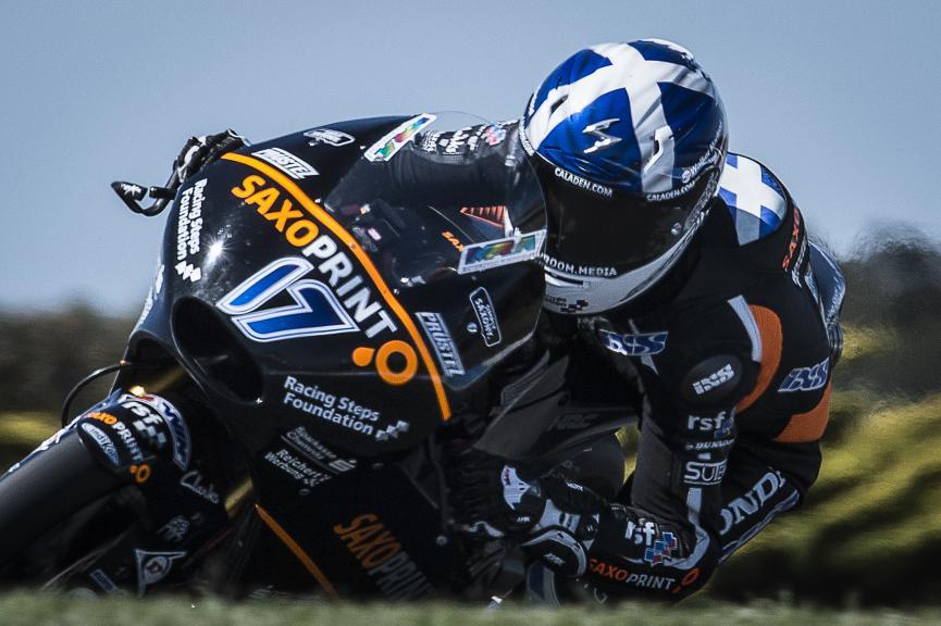 John Mc Phee, Saxoprint RTG, Australian GP QP