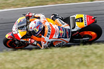 "Pedrosa: ""Today was a difficult day"""