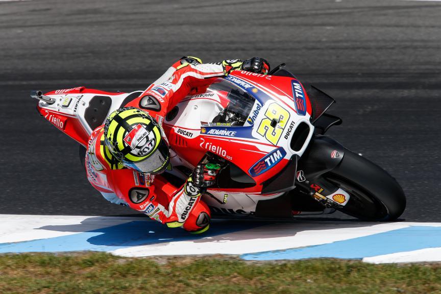 Andrea Iannone, Ducati Team, Australian GP Q2