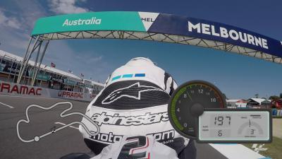 Vuelta OnBoard GoPro™ en el circuito de Phillip Island