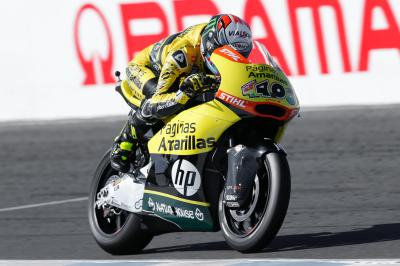 "Rins: ""I feel strong with the bike"""