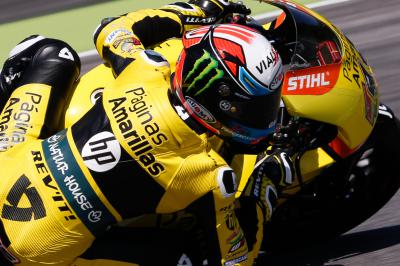 Rookie Rins on pole in Moto2™