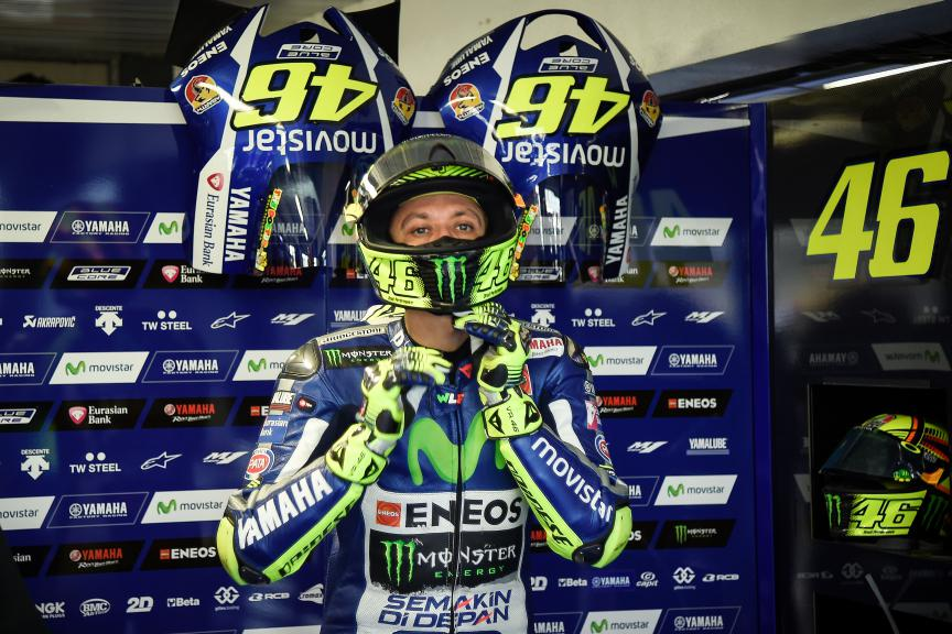 Valentino Rossi, Movistar Yamaha MotoGP, Australiab GP Q2