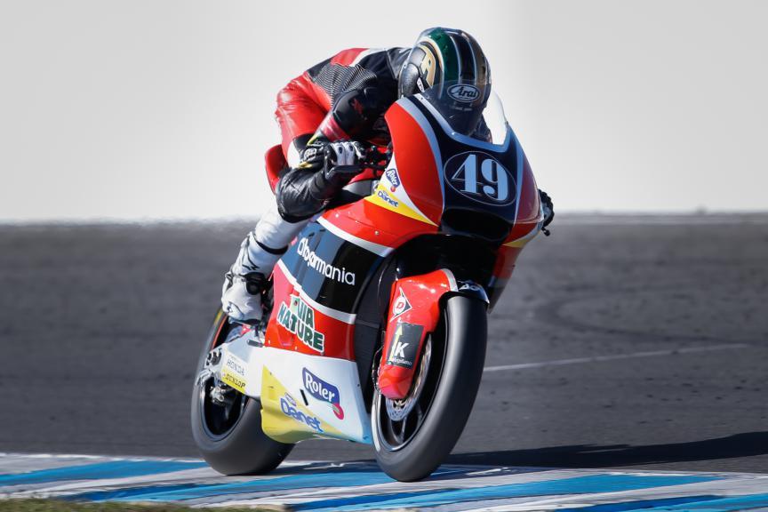 Axel Pons, AGR Team, Australian GP QP