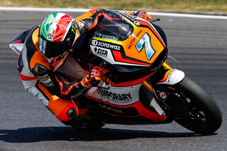 Lorenzo Baldassarri, Forward Racing, Australian GP QP