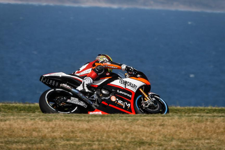 Loris Baz, Forward Racing, Australian GP Q1