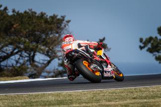 Marquez on top in FP3