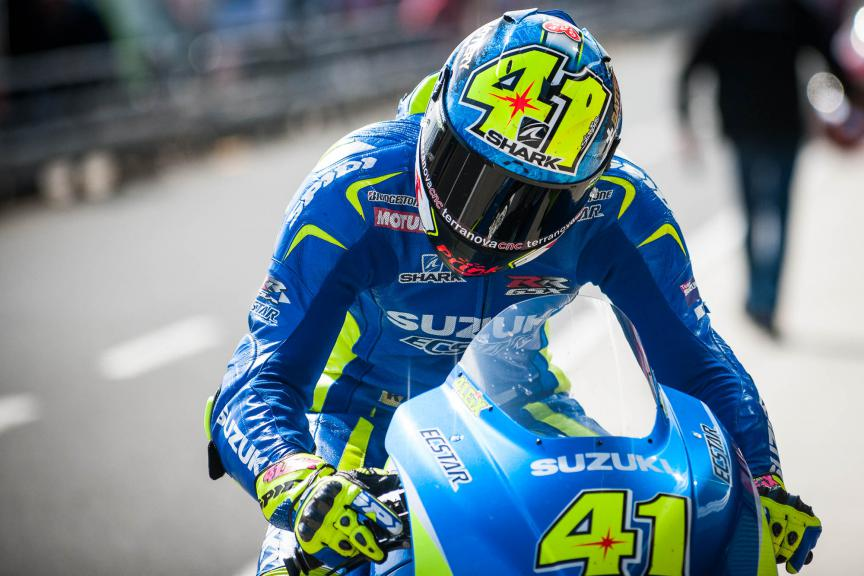 Aleix Espargaro, Team Suzuki Ecstar, Australian GP © 2015 Scott Jones, PHOTO.GP