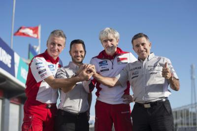 Aspar announce Ducati partnership