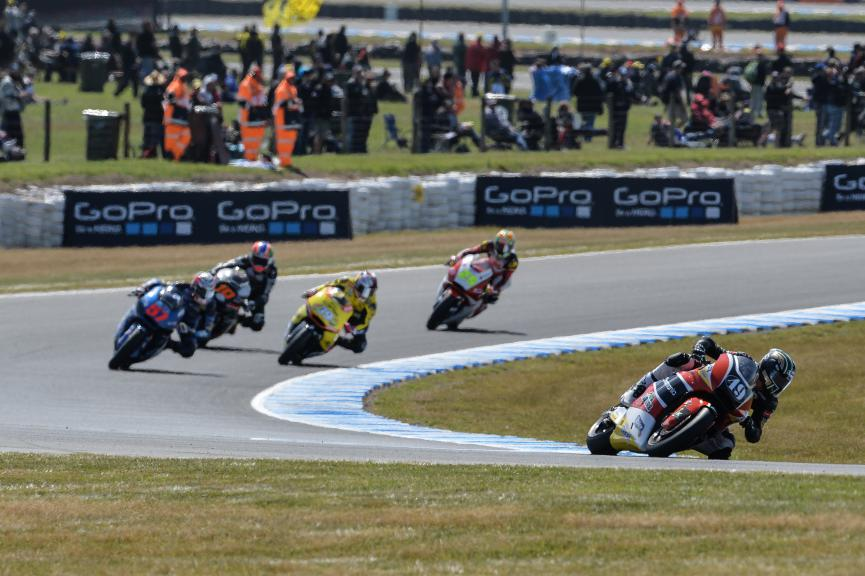 Moto2 Action, Australian GP