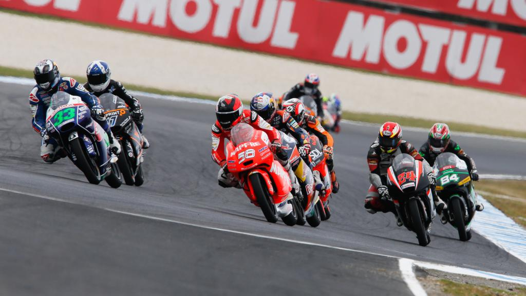 Moto3 Action Australian GP