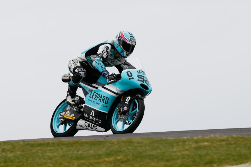 Danny Kent, Leopard Racing, Australian GP QP