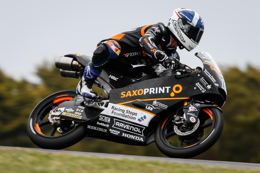 John McPhee, Saxoprint RTG, Australian GP QP