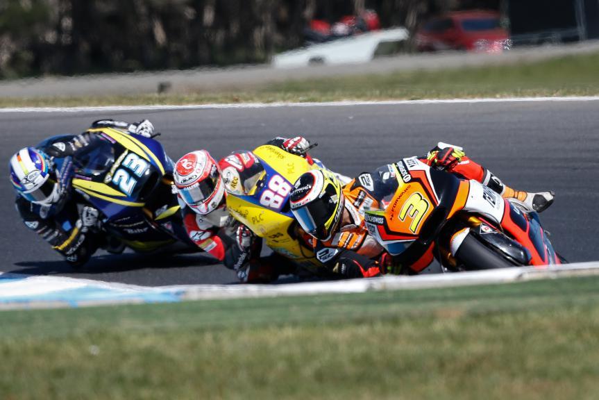 Simone Corsi, Forward Racing, Australian GP Race