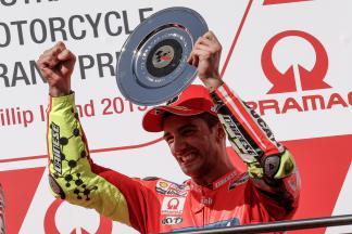 Iannone : « Je me suis battu avec les meilleurs »