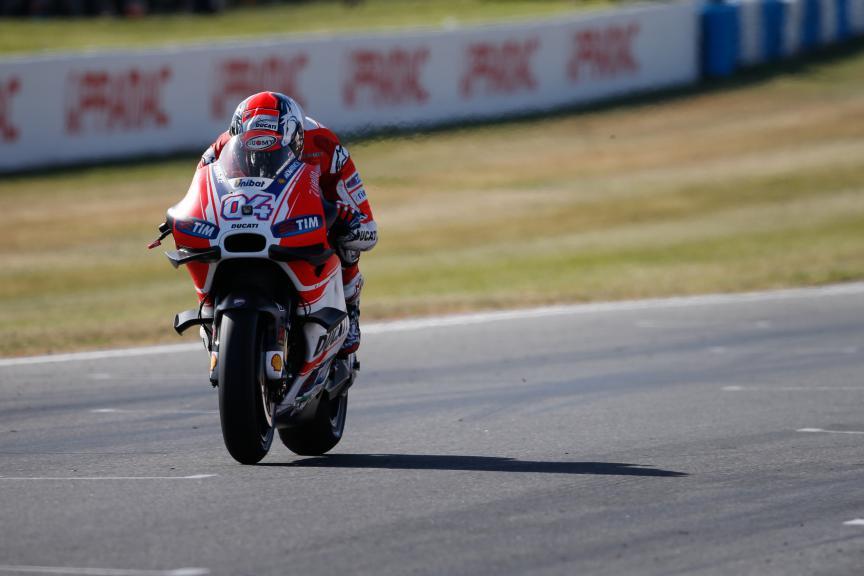 Andrea Dovizioso, Ducati Team, Australian GP Race