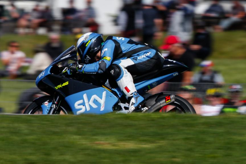 Romano Fenati, SKY Racing Team VR46, Australian GP Race