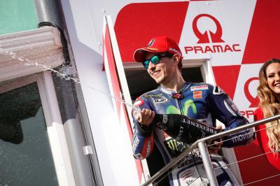Lorenzo: «He tenido suerte que Iannone ha pasado a Rossi»