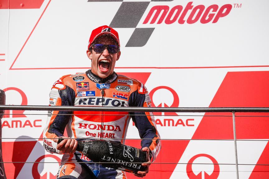 Marc Marquez, Repsol Honda Team, Australian GP RACE